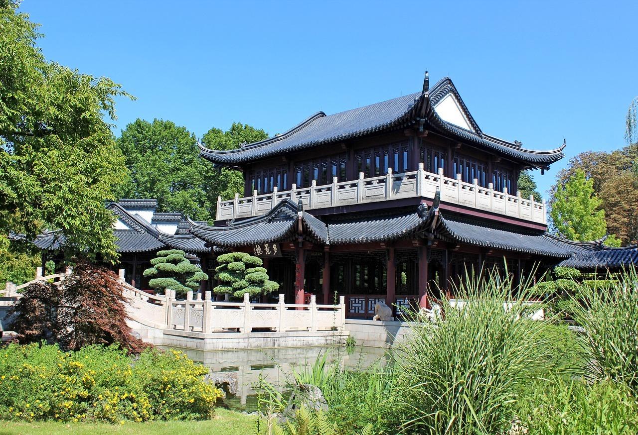 Chinesiches Teehaus im Luisenpark