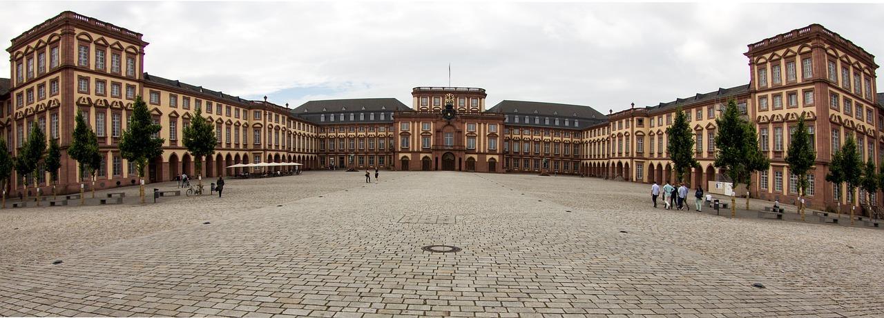 Panorama Mannheimer Schloss und Universität